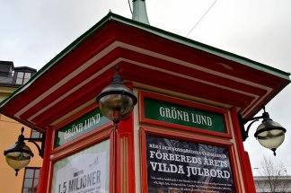Gröna Lund, the amusement park (Closed for the season)