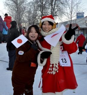 Santa and Reindeer from Japan