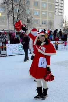 Santa Japan was so friendly!