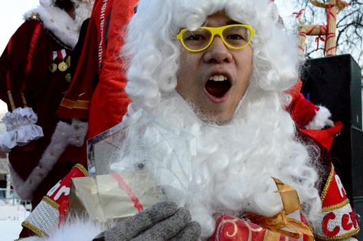 First Place Winner, Santa Banana from Hong Kong