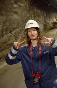 selfies in the mine..