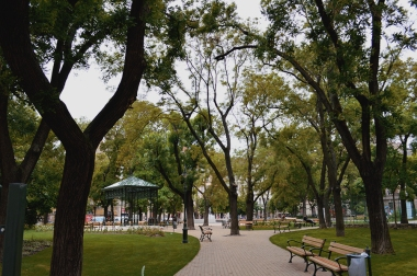 The park in our neighborhood again