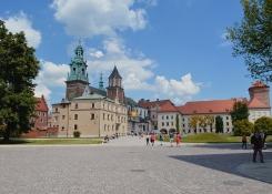 Wawel square