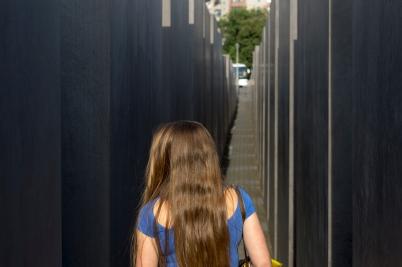 walking thru the memorial