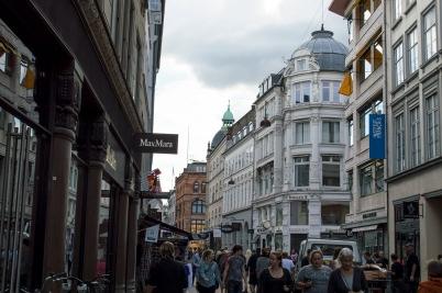 Østergade/ main shopping street