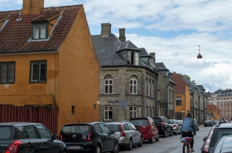 many brick/stone buildings in Denmark, something I haven't seen at all in Sweden!