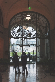 the grand entrance