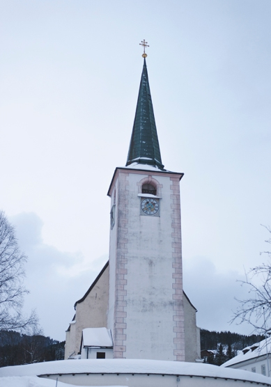 The church in the village